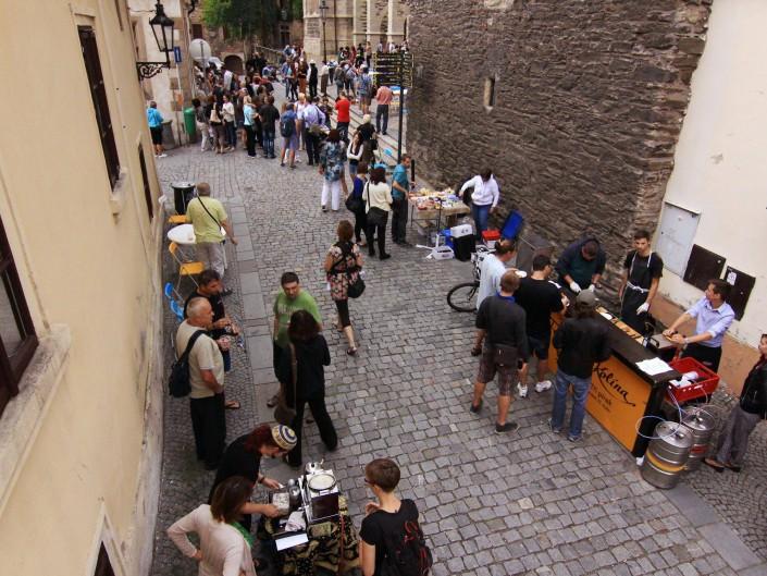 3. otevřená ulice